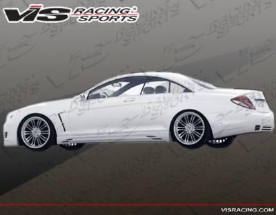 CL Class - Side Skirts - VIS Racing - Mercedes-Benz CL Class VIS Racing ACT Side Skirts - 07MEW2162DACT-004