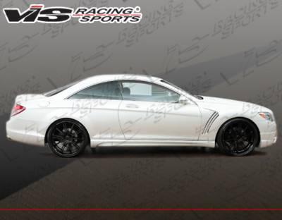 CL Class - Side Skirts - VIS Racing - Mercedes-Benz CL Class VIS Racing VIP Side Skirts - 07MEW2162DVIP-004