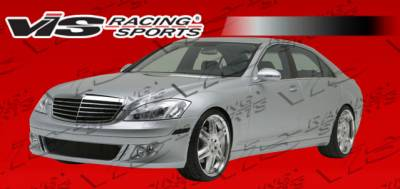 S Class - Side Skirts - VIS Racing - Mercedes-Benz S Class VIS Racing B Spec Side Skirts - 07MEW2214DBSC-004