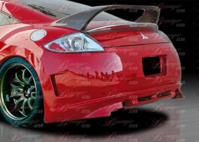 Eclipse - Rear Bumper - AIT Racing - Mitsubishi Eclipse AIT Racing Blackout-3 Style B-Magic Rear Bumper - ME06BMBKO3RB