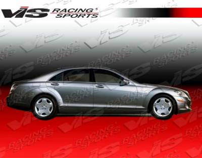 S Class - Side Skirts - VIS Racing - Mercedes-Benz S Class VIS Racing Euro Tech Side Skirts - 07MEW2214DET-004