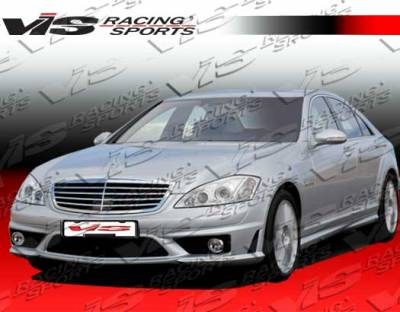 S Class - Side Skirts - VIS Racing - Mercedes-Benz S Class VIS Racing Euro Tech 65 Style Side Skirts - 07MEW2214DET65-004