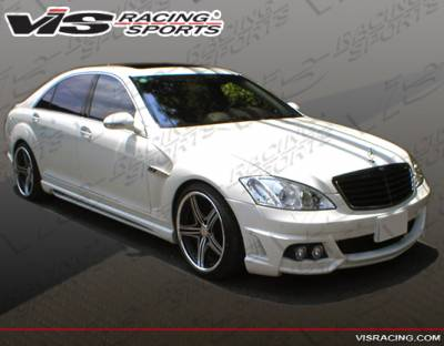 S Class - Side Skirts - VIS Racing - Mercedes-Benz S Class VIS Racing VIP Side Skirts - 07MEW2214DVIP-004