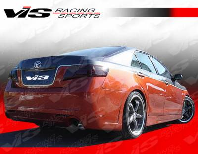 Camry - Side Skirts - VIS Racing - Toyota Camry VIS Racing VIP-2 Side Skirts - 07TYCAM4DVIP2-004