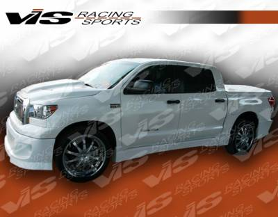 Tundra - Side Skirts - VIS Racing - Toyota Tundra VIS Racing Blaze Side Skirts - 07TYTUN4DBLZ-004