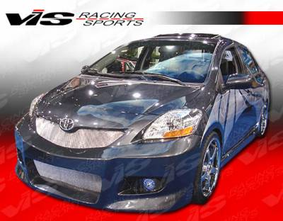 Yaris - Side Skirts - VIS Racing - Toyota Yaris VIS Racing VIP Side Skirts - 07TYYAR4DVIP-004