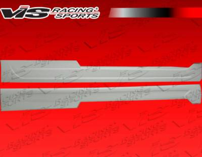 G37 - Side Skirts - VIS Racing - Infiniti G37 VIS Racing CTX Side Skirt - 08ING372DCTX-004