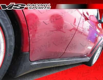 Lancer - Side Skirts - VIS Racing - Mitsubishi Lancer VIS Racing OEM Side Skirt - Carbon Fiber - 08MTEV104DOE-004C