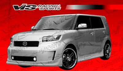 XB - Side Skirts - VIS Racing - Scion xB VIS Racing Razor Side Skirts - 08SNXB4DRAZ-004