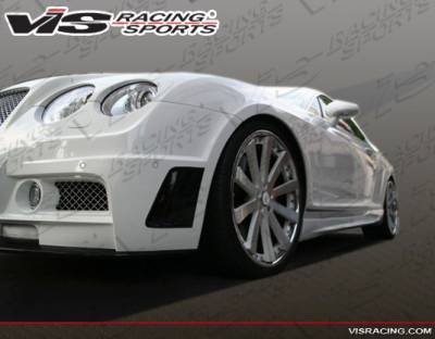 Continental GT - Side Skirts - VIS Racing. - Bentley Continental GT VIS Racing VIP Side Skirts - 09BECON2DVIP-004