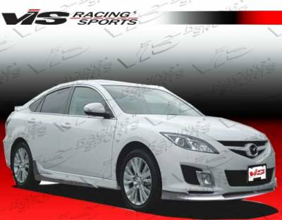 6 4Dr - Side Skirts - VIS Racing - Mazda 6 VIS Racing VIP Side Skirts - 09MZ64DVIP-004