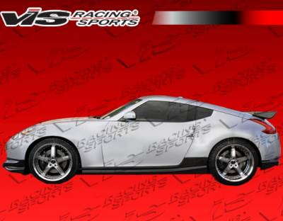 370Z - Side Skirts - VIS Racing - Nissan 370Z VIS Racing Techno R Side Skirts - 09NS3702DTNR-004