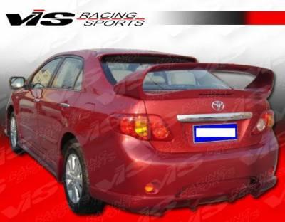 Corolla - Side Skirts - VIS Racing - Toyota Corolla VIS Racing AMS Side Skirts - 09TYCOR4DAMS-004