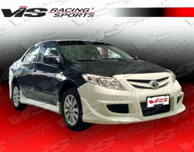 Corolla - Side Skirts - VIS Racing - Toyota Corolla VIS Racing Icon Side Skirts - 09TYCOR4DICO-004