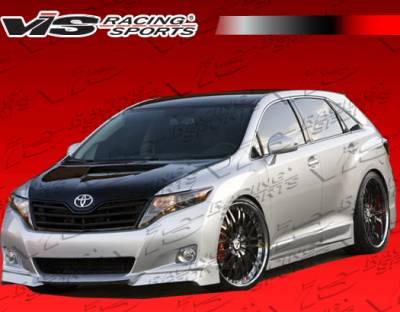 Venza - Side Skirts - VIS Racing - Toyota Venza VIS Racing Venus Side Skirts - 09TYVEN4DVEN-004