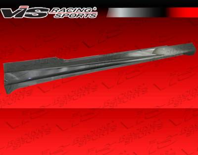 Camaro - Side Skirts - VIS Racing - Chevrolet Camaro VIS Racing SX Side Skirts - 10CHCAM2DSX-004