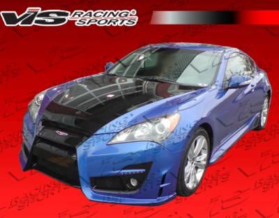 Genesis - Side Skirts - VIS Racing - Hyundai Genesis VIS Racing Tornado Side Skirt - 10HYGEN2DTND-004