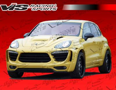 Cayenne - Side Skirts - VIS Racing. - Porsche Cayenne VIS Racing Matrix Side Skirts - 11PSCAY4DMTR-004