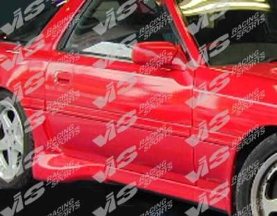 Supra - Side Skirts - VIS Racing - Toyota Supra VIS Racing Demon Side Skirts - 86TYSUP2DDEM-004