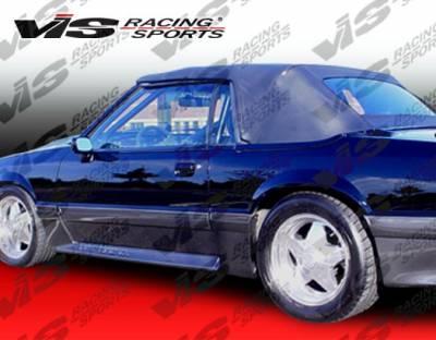 Mustang - Side Skirts - VIS Racing - Ford Mustang VIS Racing Cobra R Side Skirts - 87FDMUS2DCR-004