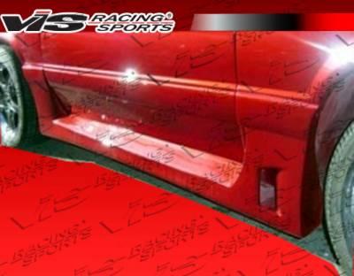 Mustang - Side Skirts - VIS Racing - Ford Mustang VIS Racing GTX Side Skirts - 87FDMUS2DGTX-004