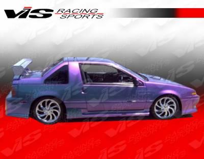 Pulsar - Side Skirts - VIS Racing - Nissan Pulsar VIS Racing J Speed Side Skirts - 87NSPUL2DJSP-004