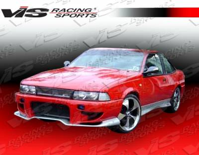 Cavalier 2Dr - Side Skirts - VIS Racing - Chevrolet Cavalier 2DR VIS Racing Invader-2 Side Skirts - 88CHCAV2DINV2-004
