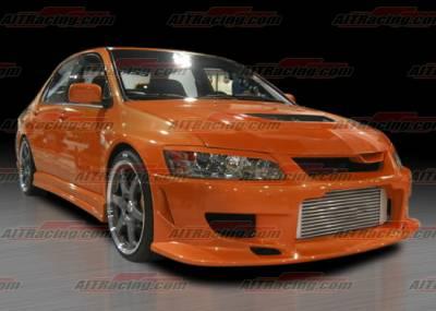 Lancer - Front Bumper - AIT Racing - Mitsubishi Lancer AIT Racing CW Style Front Bumper - MEVO03HICWSFB