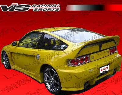 CRX - Side Skirts - VIS Racing. - Honda CRX VIS Racing Widebody Side Skirts - 88HDCRXHBWB-004
