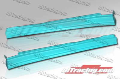 Evolution 8 - Side Skirts - AIT Racing - Mitsubishi Evolution 8 AIT Racing CW Style Side Skirts - MEVO03HICWSSS