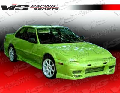 Prelude - Side Skirts - VIS Racing - Honda Prelude VIS Racing Invader Side Skirts - 88HDPRE2DINV-004