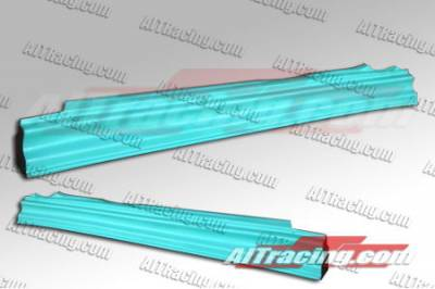Evolution 8 - Side Skirts - AIT Racing - Mitsubishi Evolution 8 AIT Racing VS Style Side Skirts - MEVO03HIVSSSS