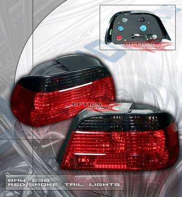 Headlights & Tail Lights - Tail Lights - Custom - E38 7 Series Blacked Out