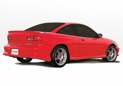 Cavalier 2Dr - Side Skirts - Wings West - Chevrolet Cavalier 2DR Wings West Custom Style Side Skirts - Left & Right - 890047L&R