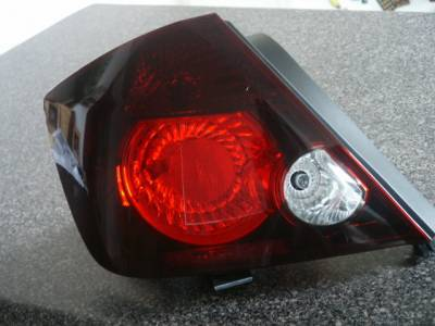 Headlights & Tail Lights - Tail Lights - Custom - Smoked Tail light Overlays w/ Cut outs