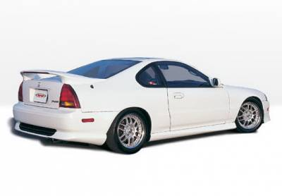 Prelude - Side Skirts - Wings West - Honda Prelude Wings West Racing Series Side Skirts - Left & Right - 890098L&R