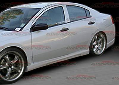 Galant - Side Skirts - AIT Racing - Mitsubishi Galant AIT Racing GRS Style Side Skirts - MG04HIGRSSS