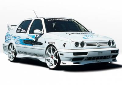 Golf - Side Skirts - Wings West - Volkswagen Golf Wings West Custom Style Side Skirts - Left & Right - 890106L&R