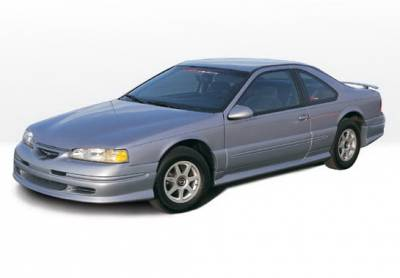 Thunderbird - Side Skirts - Wings West - Ford Thunderbird Wings West Custom Style Side Skirts - Left & Right - 890117L&R