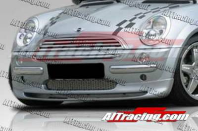 Cooper - Front Bumper - AIT Racing - Mini Cooper AIT Racing H-Tech Style Front Lip - MIN02HIHMNFAD