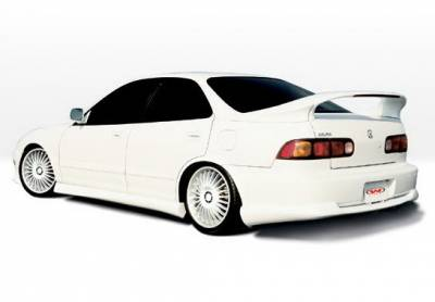 Integra 4Dr - Side Skirts - Wings West - Acura Integra 4DR Wings West Racing Series Side Skirts - Left & Right - 890148L&R