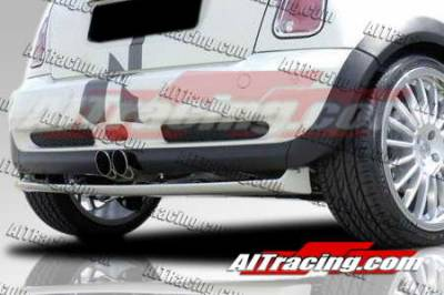 Cooper - Rear Add On - AIT Racing - Mini Cooper AIT Racing H-Tech Style Rear Lip - MINS02HIHMNRAD