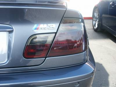 Headlights & Tail Lights - Tail Light Covers - Custom - Smoked Tail light Overlays