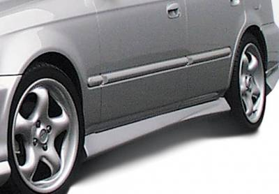 Civic 4Dr - Side Skirts - VIS Racing - Honda Civic 4DR VIS Racing Racing Series Left Side Skirt - 890158L
