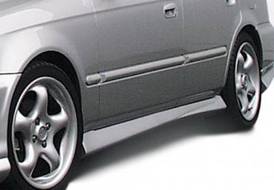 Civic 4Dr - Side Skirts - Wings West - Honda Civic 4DR Wings West Racing Series Side Skirts - Left & Right - 890158L&R
