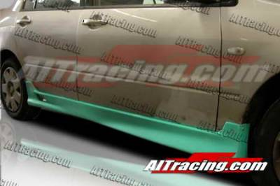 Lancer - Side Skirts - AIT Racing - Mitsubishi Lancer AIT Racing Apex Style Side Skirts - ML02HIAPXSS