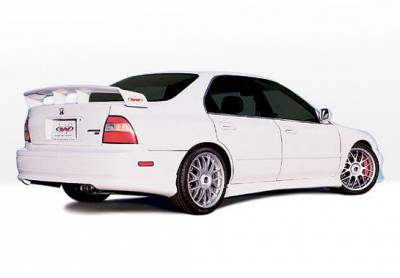 Accord 2Dr - Side Skirts - VIS Racing - Honda Accord 2DR VIS Racing W-Type Right Side Skirt - 890187R