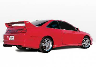 Accord 2Dr - Side Skirts - Wings West - Honda Accord 2DR Wings West W-Type Side Skirts - Left & Right - 890279L&R
