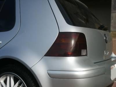 Headlights & Tail Lights - Tail Lights - Custom - Golf Smoked Tail lights Overlays