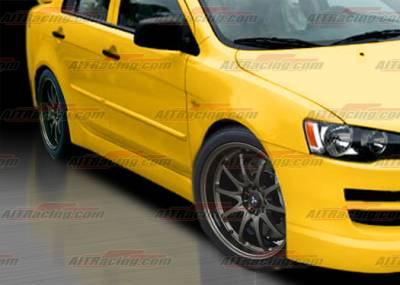 Lancer - Side Skirts - AIT Racing - Mitsubishi Lancer AIT Racing GTS Style Side Skirts - ML07HIGTSSS
